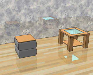 Video simulare superfici riflettenti con sketchup dita